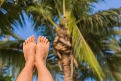 Sunny Foot Immagine Stock Libera da Diritti