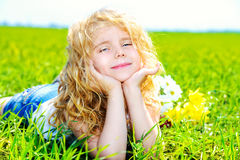 Sunny girl Stock Images