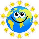 Sunny globe Royalty Free Stock Photography
