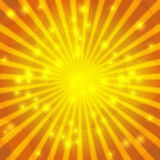 Sunny Gold lines Royalty Free Stock Images