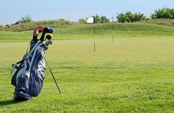 Sunny Golf Scene Royalty Free Stock Images