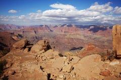 Sunny Grand Canyon Stock Photo