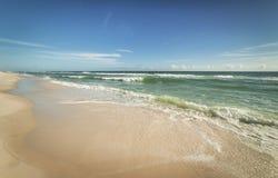 Sunny Gulf de plage du Mexique Images libres de droits