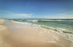 Sunny Gulf of Mexico Beach Royalty Free Stock Images