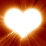 Sunny heart Stock Photos