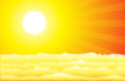 Sunny Heaven Royalty Free Stock Images