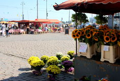 Sunny Helsinki immagine stock libera da diritti