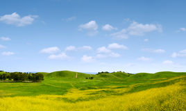 Sunny hills Stock Photography