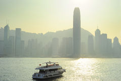 Sunny Hong Kong Royalty Free Stock Images
