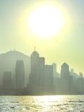 Sunny Hong Kong Royalty Free Stock Photos