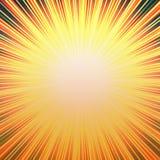 Sunny Hot Burst Stock Image