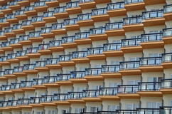 Sunny hotel balcony Stock Images