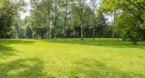 Idyllic park scenery Stock Photos
