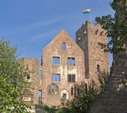 Sunny illuminated Wertheim Castle detail Royalty Free Stock Images