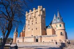 Sunny Image del Alcazar de Segovia en España Fotografía de archivo libre de regalías