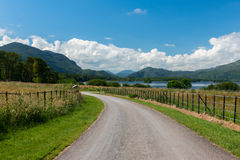 Sunny Irish landscape. Countryside view in Killarney National Park Ireland Stock Image