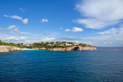 Sunny island. Of Mallorca, Spain Royalty Free Stock Images