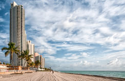 Sunny Isles beach Royalty Free Stock Photography