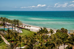 Sunny Isles beach Royalty Free Stock Photo