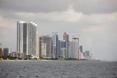Sunny Isles Beach FL Imagen de archivo libre de regalías