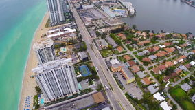 Sunny Isles Beach Florida almacen de video