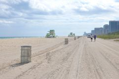 Sunny Isles Beach, Florida, de V.S. stock afbeeldingen