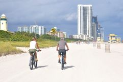 Sunny Isles Beach, Florida, USA lizenzfreie stockfotografie