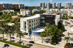 Sunny Isles Beach Government Center Photo stock