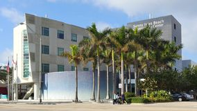 Sunny Isles Beach Government Center stock footage