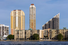 Sunny Isles Beach-stad, Florida Royalty-vrije Stock Afbeeldingen