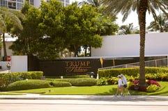 Sunny Isles Beach Trump Palace fotos de archivo
