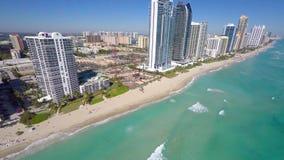 Sunny Isles Beach video aéreo FL almacen de video