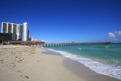 Sunny Isles Pier Stock Photography