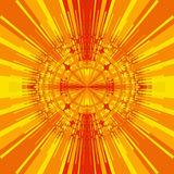 Sunny Kaleidoscope Royalty Free Stock Photo