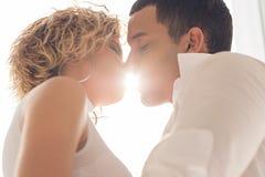 Sunny kiss Stock Photography