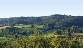 Sunny landscape around Emmendingen Royalty Free Stock Photography