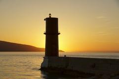 Sunny lantern Stock Images