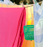 Sunny laundry Stock Photography