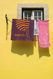 Sunny Laundry Stock Photo