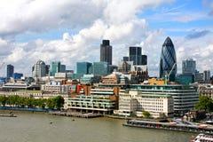 Sunny London landscape Stock Image