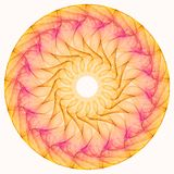 Sunny mandala Stock Photo
