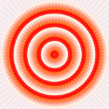 Sunny Mandala Pattern Royalty Free Stock Image