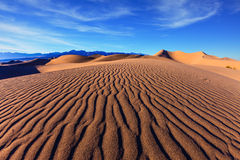 Sunny morning in  Death Valley Royalty Free Stock Image