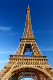 Sunny morning and Eiffel Tower, Paris Stock Photography
