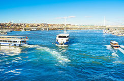 The sunny morning in Istanbul Stock Photography