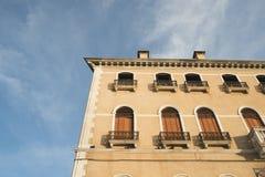 Sunny morning in Venice Stock Image