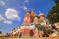 Sunny Moscow le Kremlin Photo stock