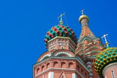 Sunny Moscow le Kremlin Photos stock