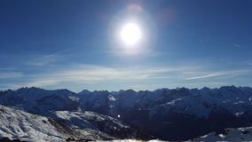 Sunny Mountans Image stock