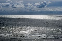 Sunny North Sea Royalty Free Stock Photography